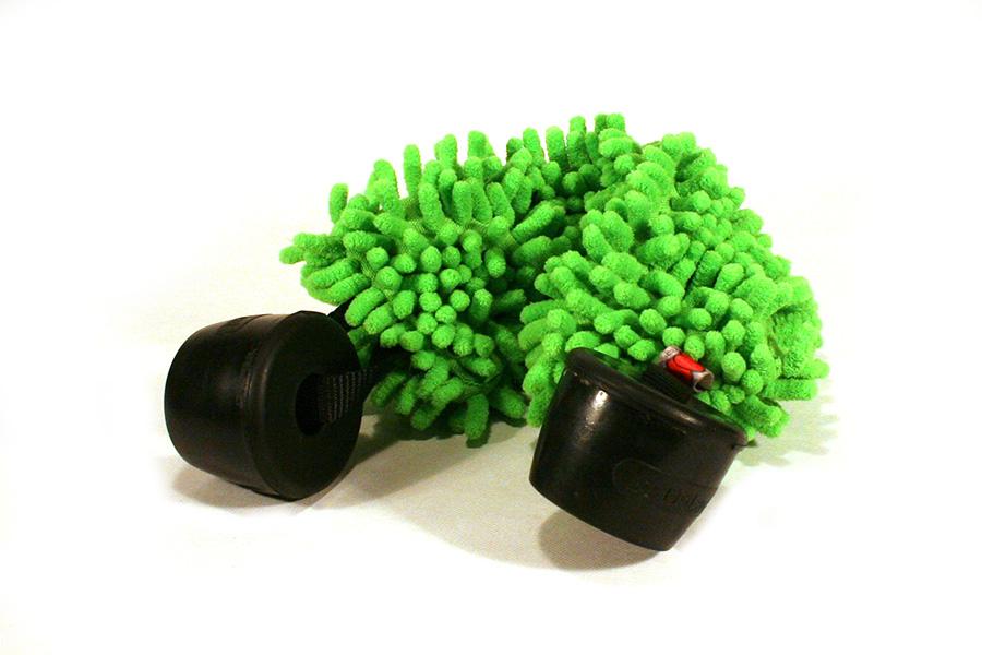 zöld színű huzakodópárna két fejőgumival